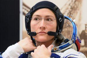Christina Koch batirá el récord de permanencia femenina en el espacio