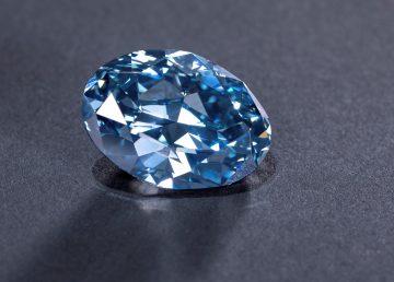 Descubren un excepcional diamante azul de 20 quilates en Botsuana