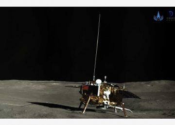 Sonda Chang'e-4 de China reanuda trabajos en su quinto día lunar