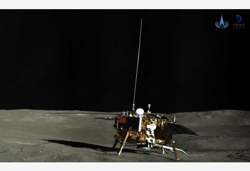 Vehículo explorador chino recorre 271 metros en la cara oculta de la Luna