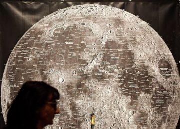 Exposición para conmemorar el 50 aniversario de la llegada a la luna