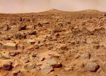 Un estudio confirma presencia de metano en Marte