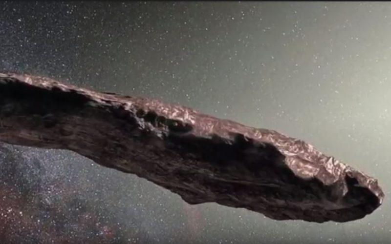 La roca espacial con forma de nave de Star Wars