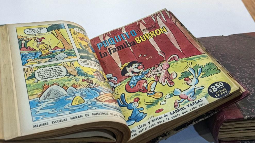 737d708064 UNAM digitaliza más de mil 400 historietas mexicanas del siglo XX