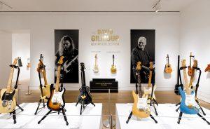 David Gilmour, de Pink Floyd, subasta algunas de sus viejas 'compañeras'