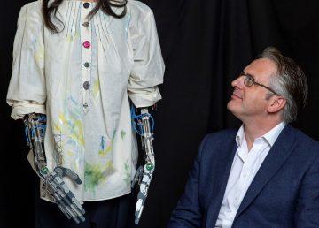 Ai- Da, la primera robot artista del mundo