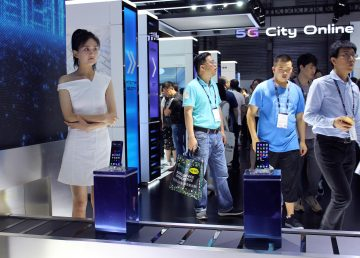 China presenta en el MWC, donde el 5G es ya una realidad