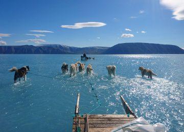 Fenómeno meteorológico pone en alerta a Groenlandia