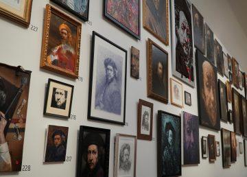 Artistas de 95 países se inspiran en Rembrandt y crean una exposición