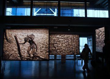 Serra Pelada: 40 años de la fiebre del oro expuesta en una galería