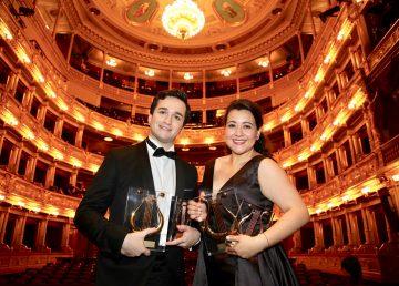 El tenor español Anduaga y la soprano guatemalteca González triunfan en Operalia