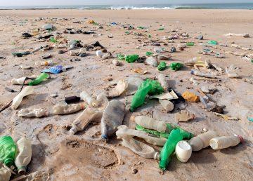 Nano imanes de carbono descomponen los microplásticos que contaminan el agua