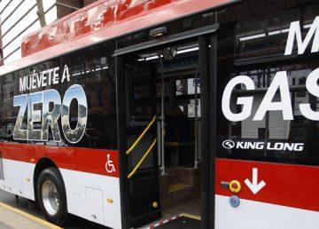 Red chilena de movilidad suma primer autobús propulsado por gas natural