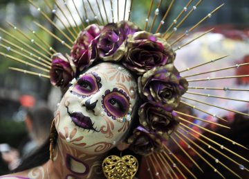 MEXICO-DAY OF THE DEATH-CATRINA-PARADE