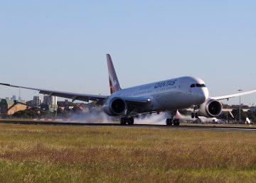 Qantas finaliza ensayo de vuelo comercial más largo, de Nueva York a Sídney