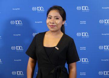 Yalitza Aparicio, nombrada embajadora de Buena Voluntad de la UNESCO