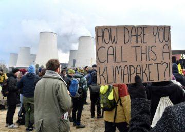 Activistas del clima ocuparon minas de carbón en Alemania