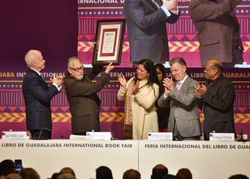 Comienza la FIL 2019 para celebrar a la India y a David Huerta