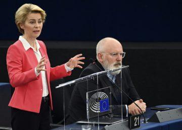 """El """"Pacto verde"""" europeo requerirá """"cientos de miles de millones de euros al año"""", afirma Timmermans"""
