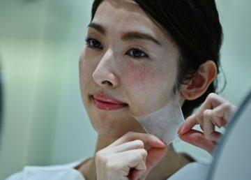 Lanzado en Japón un cosmético en espray que crea máscara de nanofibras