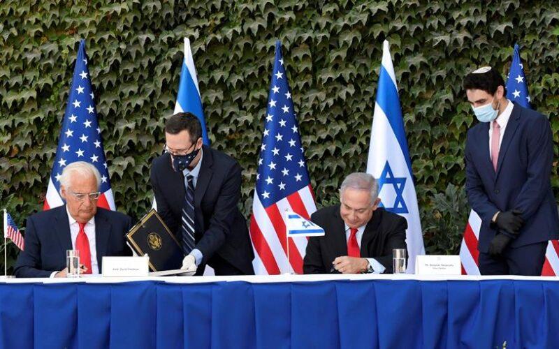 EEUU amplía acuerdos científicos con Israel a territorios de Cisjordania y Golán
