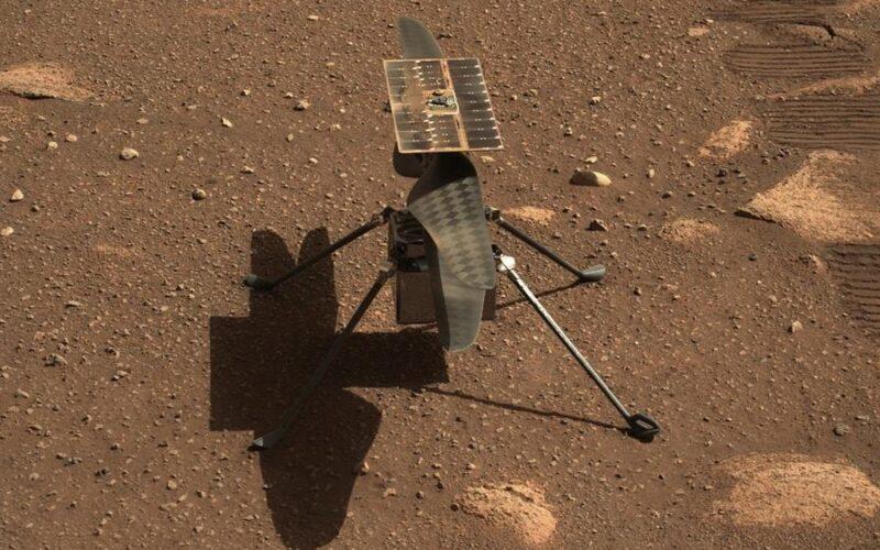 Una actualización impedirá que el Ingenuity vuele esta semana sobre Marte