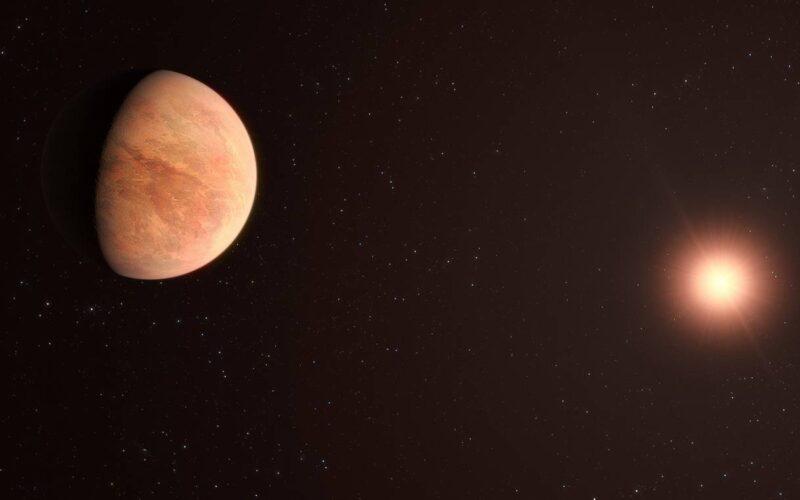 Un exoplaneta rocoso con la mitad de la masa de Venus