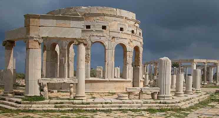 Leptis Magna, una joya del Imperio romano olvidada en Libia