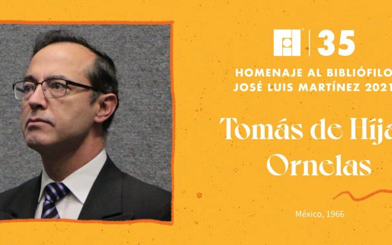 Tomás de Híjar Ornelas recibirá el Homenaje al Bibliófilo